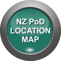 NZ Location MAP of PoDs in New Zealand Business Networking Australia & New Zealand